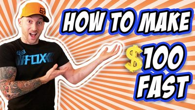 How To Make $100 A Day Fast As A Broke Teenager