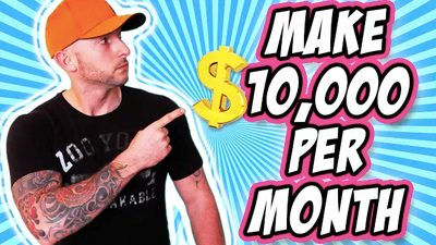 Make $10,000 a Month Online With A 2 Page Website