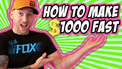 How To Make $1000 Fast- Even If You