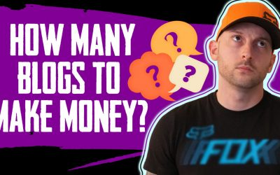 How Many Affiliate Blogs To Make A Full Time Income Online?