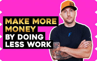How To Be Productive- Make More Money By Doing Less Work
